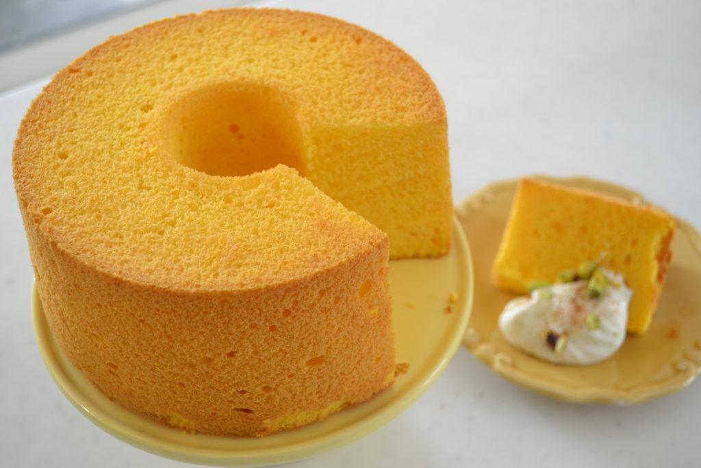 Japanese Pumpkin Cake Recipe: How To Make ★Japanese Pumpkin Chiffon Cake★~かぼちゃシフォンの作り方